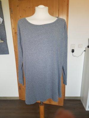 Shirt in grau/schwarz
