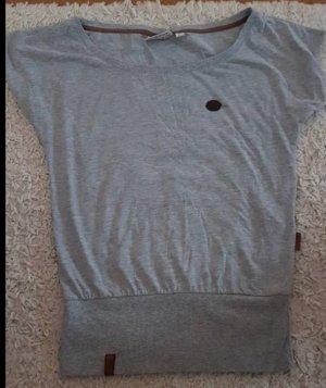 Shirt in grau von Naketano in der Größe L