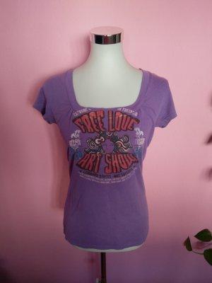 Shirt in graulila von Mavi (K3)