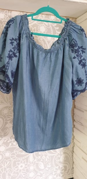 Shirt Tunic cornflower blue