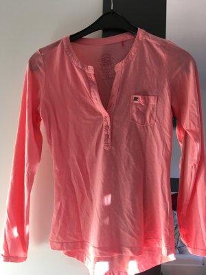 Shirt in Koralle von QS