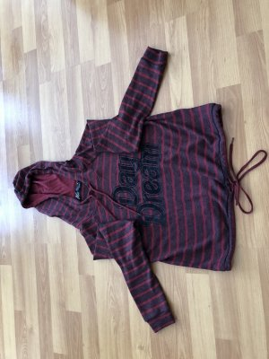 Hooded Shirt dark red
