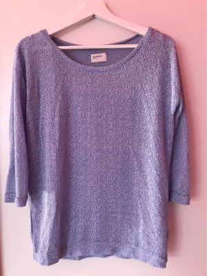Reserved Short Sleeve Sweater azure