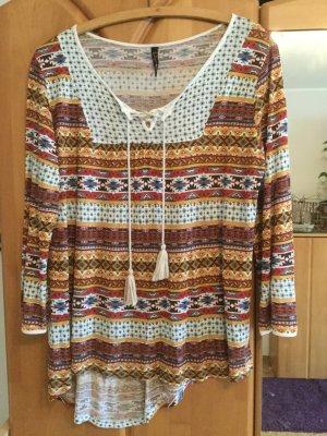 Shirt in schönen braun - Tönen