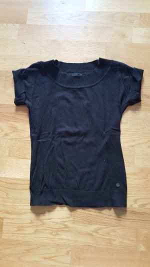 Shirt in schwarz von zero
