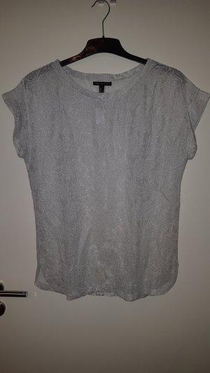Shirt in Spitzenoptik