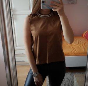 Shirt in WildlederOptik