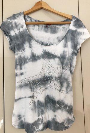 Key Largo Batik shirt grijs-lichtgrijs