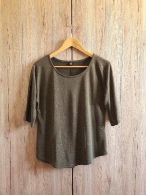Shirt khaki oliv Gr. S