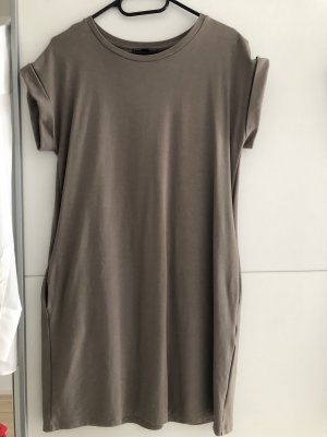 QS by s.Oliver Robe en jersey ocre-gris brun