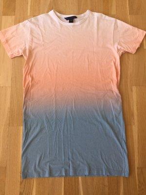 Shirt Kleid in Batik Optik