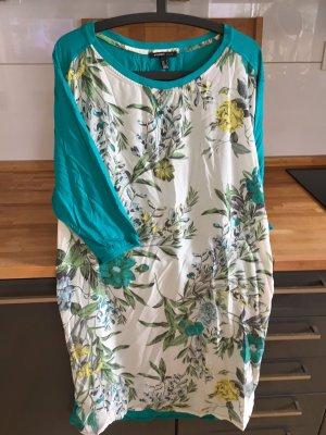 Shirt-Kleid mit floralem Muster