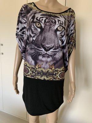 Shirt Kleid mit Strass einheitsgrösse