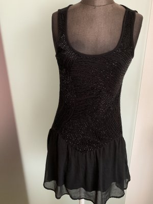 Shirt Kleid mit Volant Gr 36 38 M