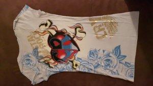 Shirt-Kleid oder Long-Shirt - mega Hingucker