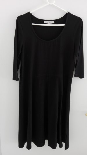 Shirt-Kleid schwarz von Clockhouse