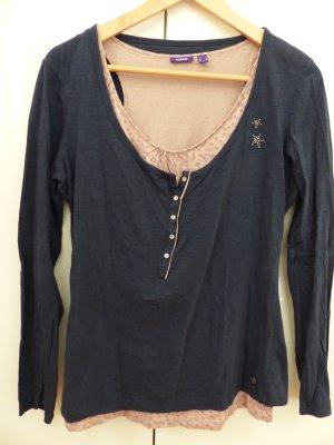 Shirt-Kombi rose-dunkelblau von mexx
