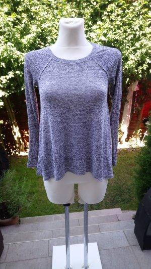 Hollister Camisa tipo túnica gris-gris oscuro