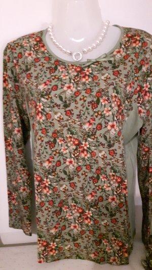 Himmelblau by Lola Paltinger Lang shirt veelkleurig Viscose