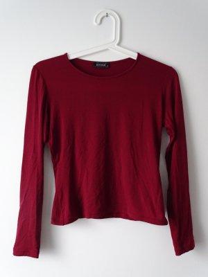 Shirt Langarm bordeaux Größe 34 KookaÏ (NP: 50€)