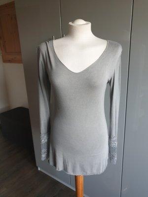 Shirt/ Langarm/ Spitze