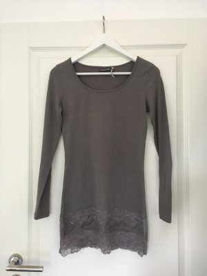 Shirt langarm von Street One taupe