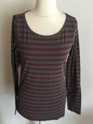 Shirt Langarmshirt gestreift Basic edc Gr. L