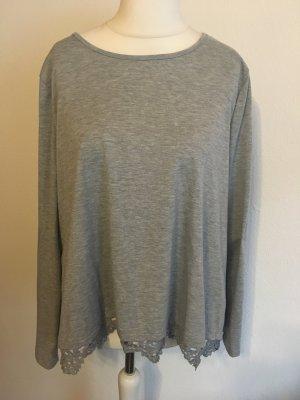 Camicia oversize grigio