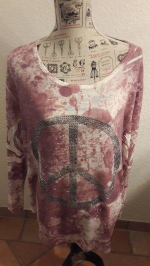 Shirt, leichter Pullover, NEU, mit Peace Zeichen