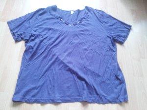 Camiseta multicolor tejido mezclado