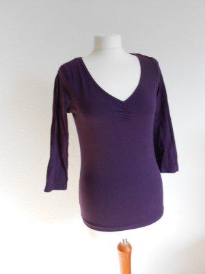 Shirt lila H&M Größe M