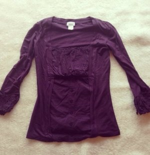 Shirt, lila, Heine, 36, violett