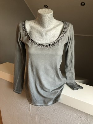 Shirt, Longsleeve, grau