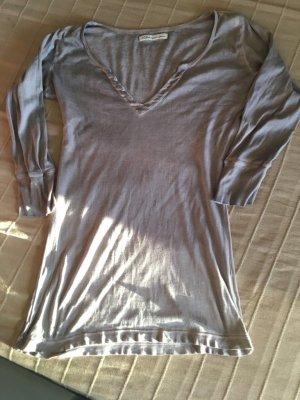 Blaumax Lange top grijs-bruin