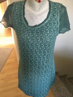 Shirt, Longtop, Tredy, grün, Größe S