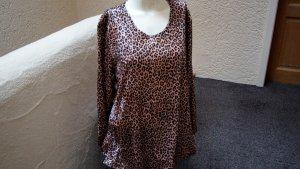 #Shirt m. Leoprint, #NEU, Gr. #46, #Meine Größe