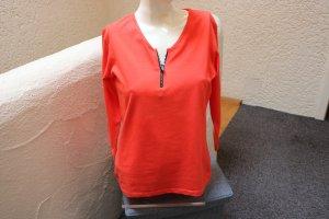 #Shirt m. Strass-Reißverschluss, Gr. 38, #NEU, #YGCC