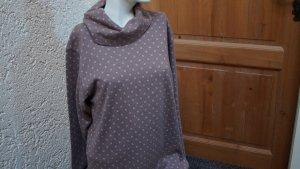 #Shirt m. weitem Rollkragen, #braun-natur, Gr. 42, #NEU, #Fine Line