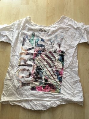 Shirt made in Italy Gr s-M weiß neu
