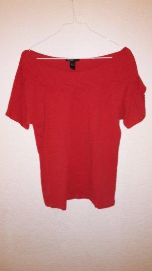 Shirt Mango rot Größe L