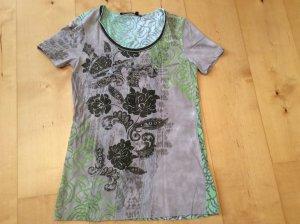 Shirt Marc Aurel grün-grau