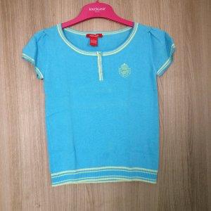 Shirt Marke: Kenvelo Größe: S Farbe: Türkis neon grün