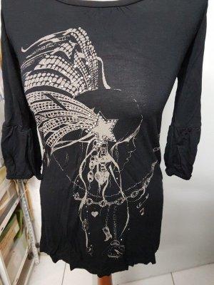 Shirt mit 3/4 Ärmel und Print (Indianer plus Glitzersteinchen)