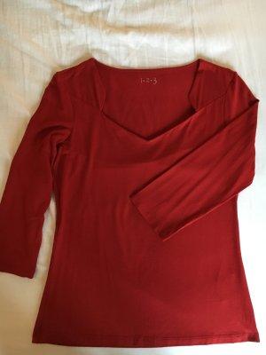 Shirt mit 3/4 Ärmeln von 1-2-3 Paris in rot