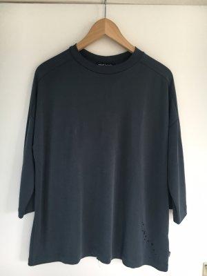 Shirt mit 3/4-Arm, Stahlgrau