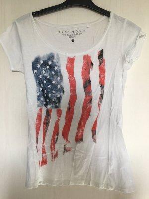 Shirt mit Amerika Flagge
