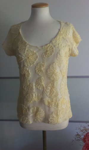 Zara Shirt pale yellow