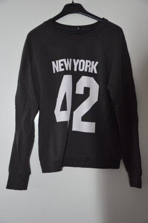 Madonna Sweat Shirt forest green-slate-gray