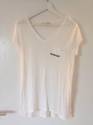 Shirt mit Aufdruck und Tasche