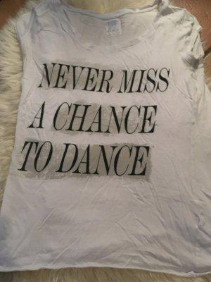 Shirt mit Aufdruck Zara